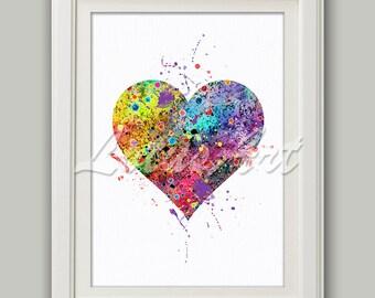 heart wall decor etsy