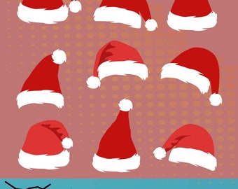 a56292d5bd2bc Santa Hat svg file  Santa Hat svg