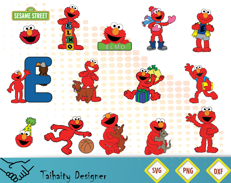 Sesame street svg file/ Sesame street svg dxf png/ | Etsy