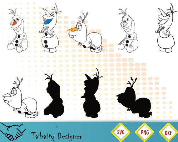 picture about Printable Olaf identified as Olaf svg document/ Olaf svg, dxf, png/ Printable/ SVG slice record/ Vector/ Electronic/ Print/ Quick down load