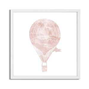 Hot Pink Celebration Watercolor Gicl\u00e9e Print