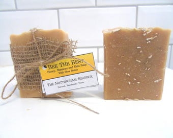 Bee The Best - Honey, Beeswax and Oats Soap
