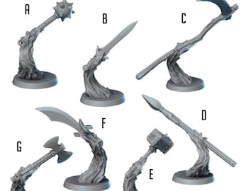 Spiritual Weapons | Spell Effects | Vae Victis Miniatures