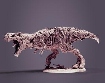 Zombie T-Rex | Undead | Dinosaur | 28mm | Clynche