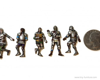 Dead Knights | Dead Bodies | Corpses | Casualty Markers | 28mm | Tiny Furniture
