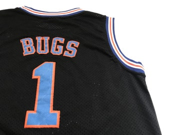 45c34b762e3c Vintage Space Jam Tune Squad Basketball Champion Jersey Bugs Bunny  1
