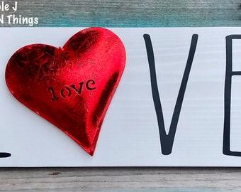 Valentine Day Sign Etsy