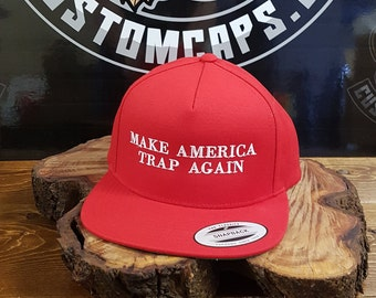 a4945586 MATA CAP // Make America Trap Again // Embroidered // SNAPBACK // Kevin  Gates