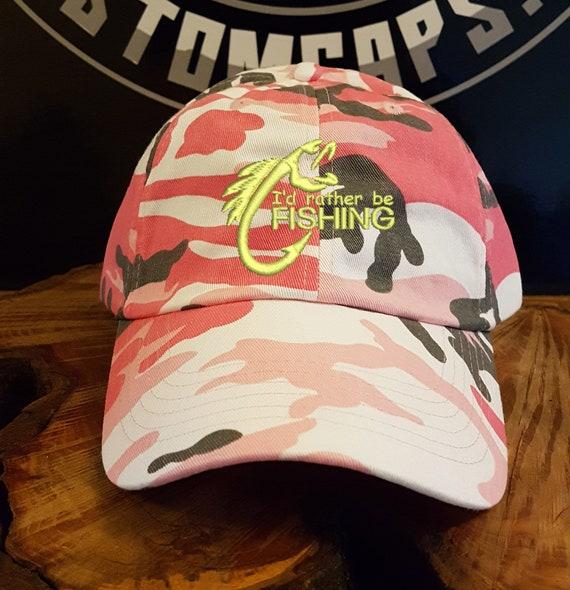 I/'D RATHER BE FISHING BASEBALL CAP