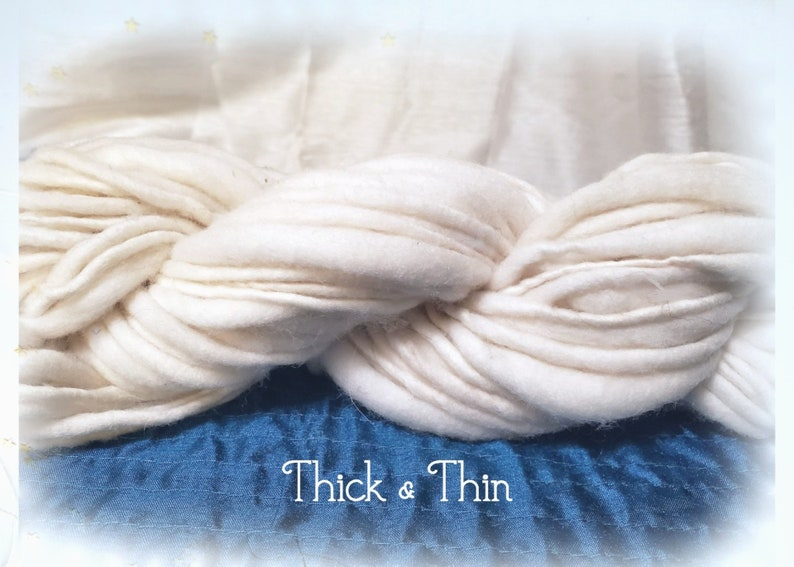 Thick and Thin Wool Single
