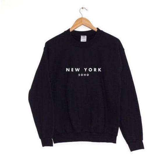 New york soho sweatshirt for menwomenunisex top jumper  a55c54ee0a5