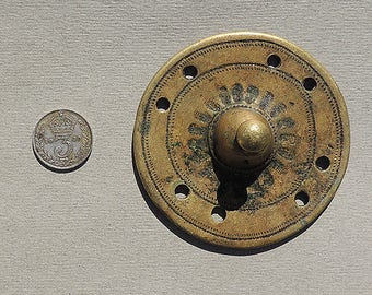 A lost wax cast brass ethnic ornament from ethiopia #7