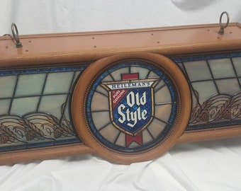 Vintage old style sign dated 1986