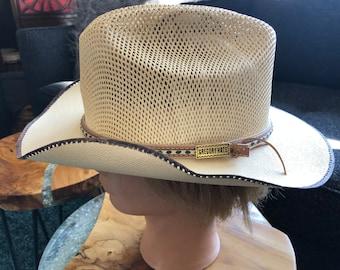 Vintage Stetson Cowboy Western Hat Authentic X's Genuine | Etsy