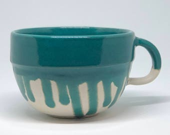 Drippy Green Tea Cup