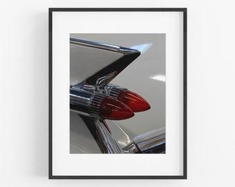 Cadillac Fins, Automotive Detail Photograph