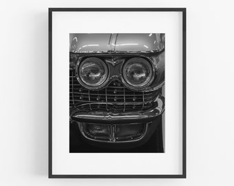 Cadillac Grille Automotive Photography