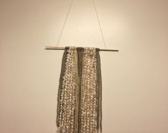 They are beautiful yarn wall hangings. You will love these because they look lovely on the wall. They will be admired by your friends.