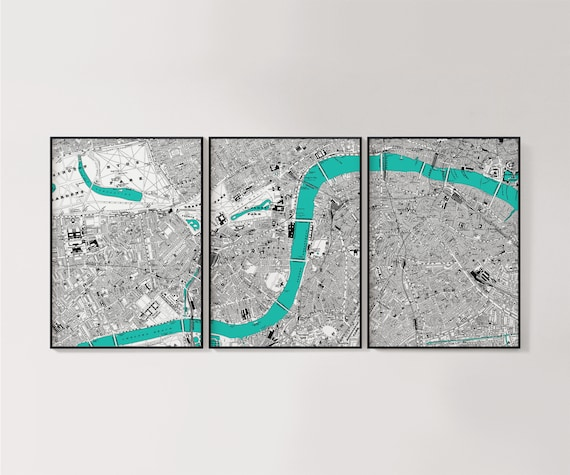 London England River Thames Photo Poster Picture Print ONLY Wall Art Sizes A4 A3