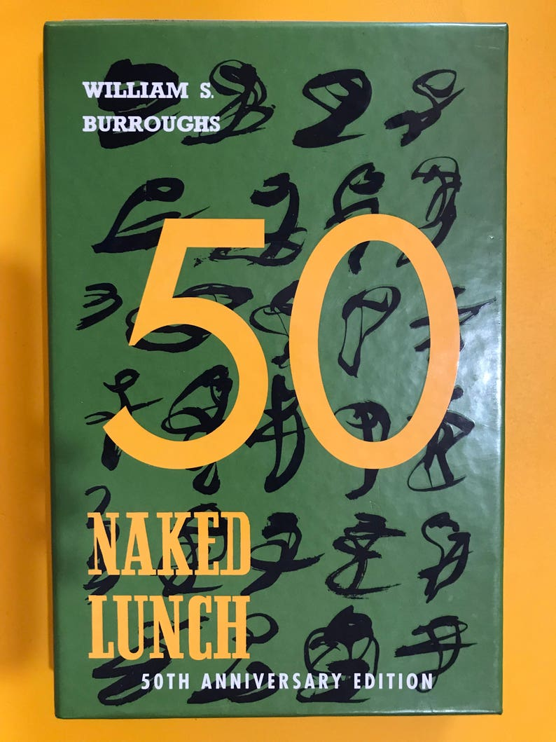 The Naked Lunch   William S. Burroughs   First Edition
