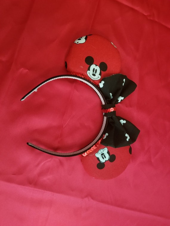 Mickey Mouse inspired Face and emotion Disney Ears