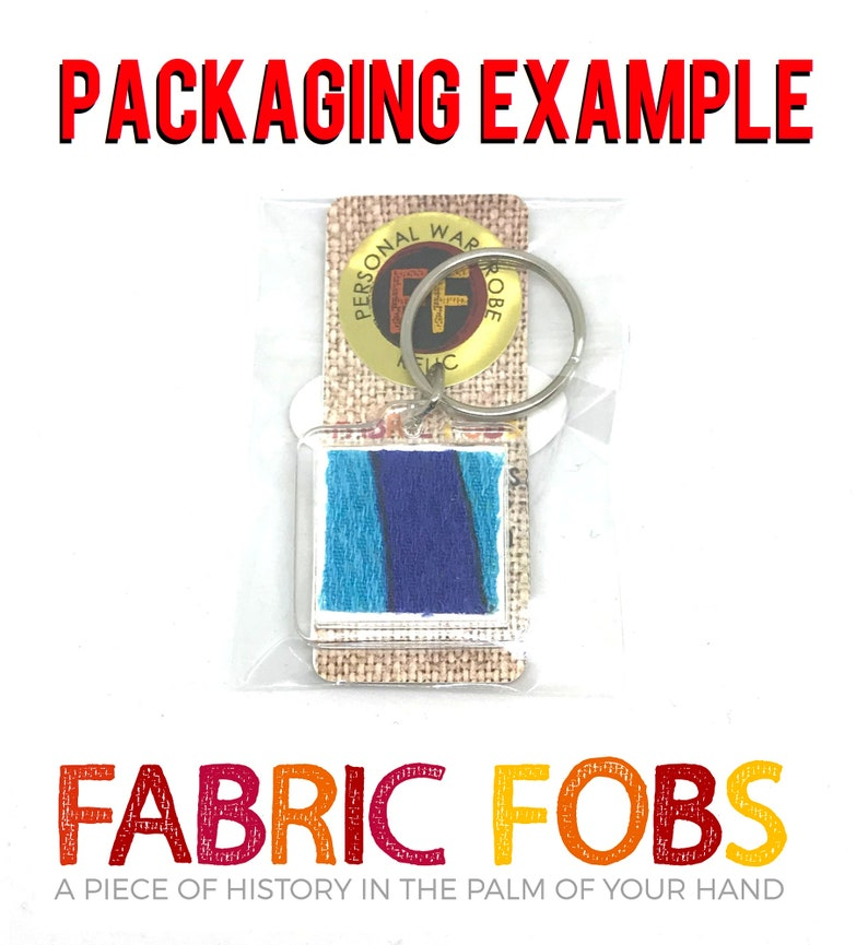 Ally Craig Emilie de Ravin Remember Me Shirt Relic Keychain Worn by de Ravin in the movie Remember Me! Fabric Fobs