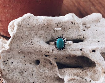 Turquoise Ring Silver