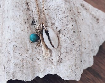 Treasure Necklace with Shell
