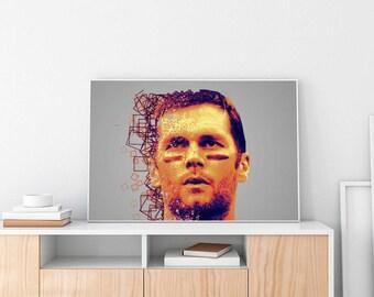 Tom Brady Limited Artwork Poster