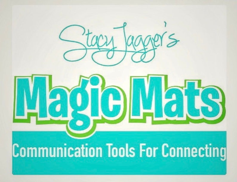 Stacy Jagger's Magic Mats are a communication tool for image 0