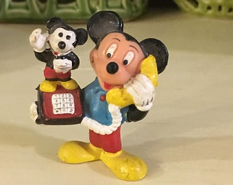 Walt Disney Mickey Mouse Vintage Toy Action Figure