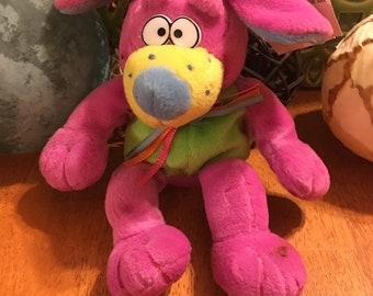 Spring Teen Pink Dog Plush