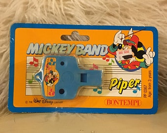 Walt Disney Mickey Mouse Vintage Unopened Piper Toy