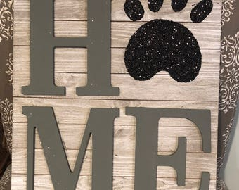 Pet Lovers Home Decor Sign