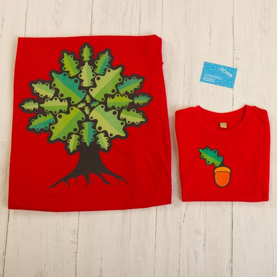 Gifts for Eco Warriors - Matching parent and child t-shirts