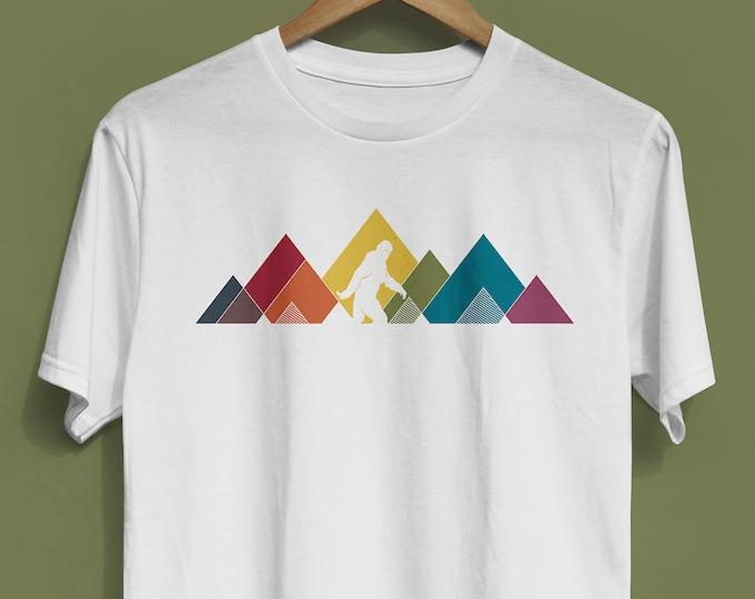 Rainbow Sasquatch Shirt (multiple colors available) - Unisex