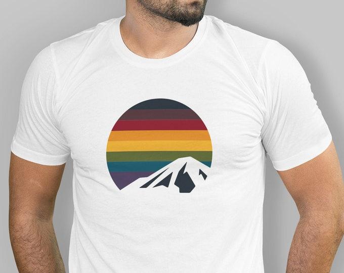 Rainbow Mountain Shirt (multiple colors available) - Unisex