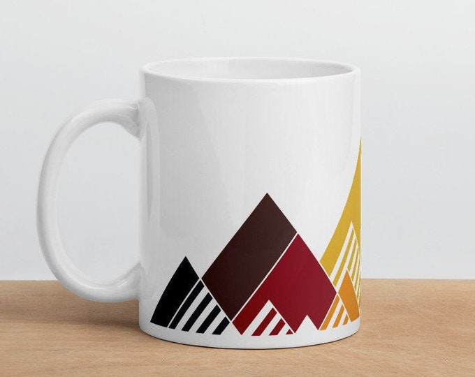 Rainbow Mountain Mug