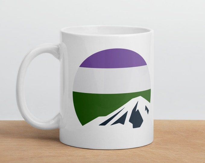 Genderqueer Mountain Mug