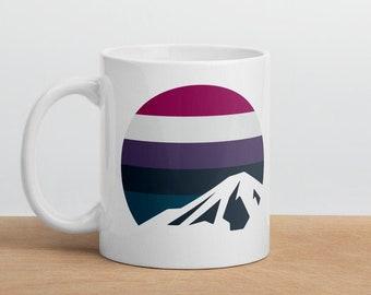 Genderfluid Mountain Mug