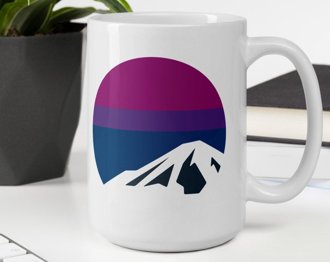 Bi Pride Mountain Mug