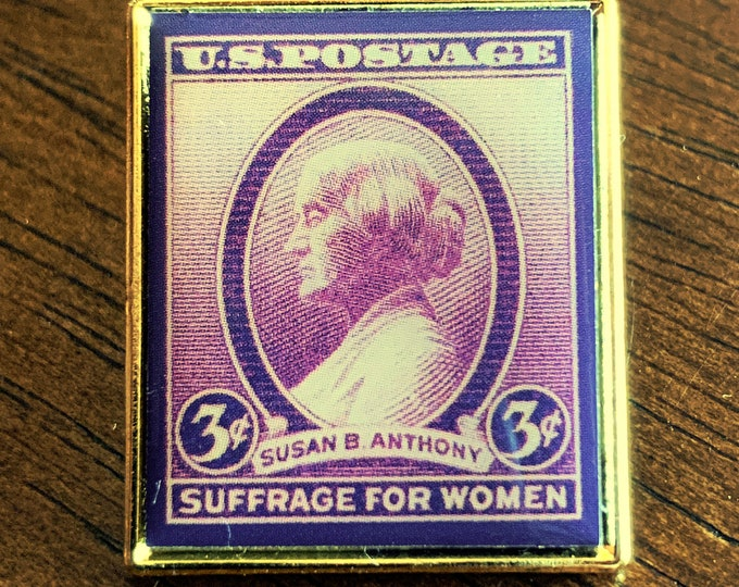 Susan B. Anthony Stamp Pin