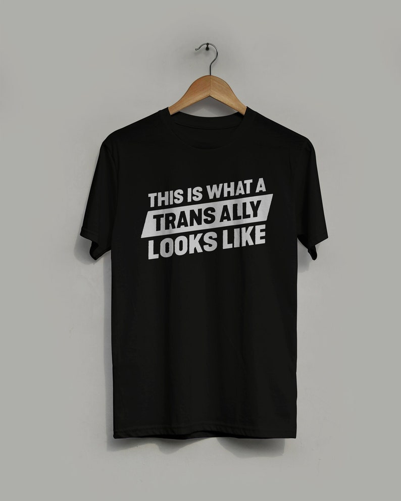 Transgender Ally T-shirt  This is What A Trans Ally image 0
