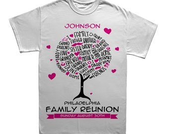 Family Reunion Shirts Etsy