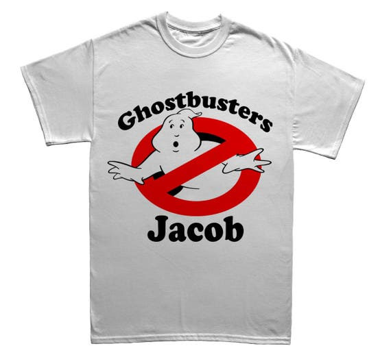 Personalised Ghostbusters T-shirt for Adults or Kids