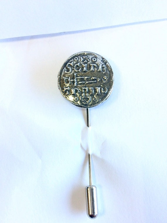 Sheep Lapel Stick Pin cravat pin Handmade in England from Fine Antique English Pewter
