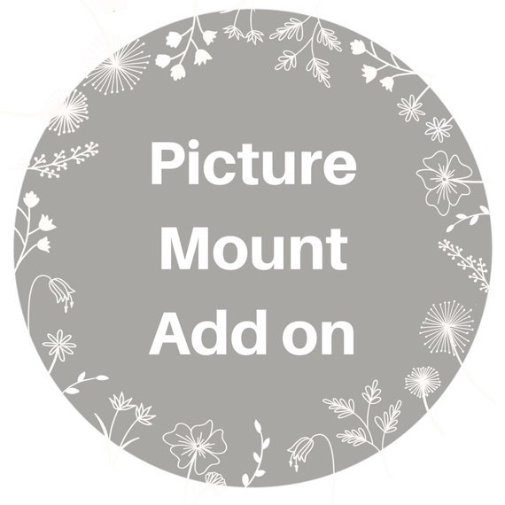 Picture Mount Add on for A4 orders