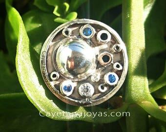 Moon. Silver ring moon. Silver ring. Moon ring. Moon phase ring
