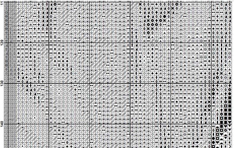 Counted Cross Stitch Pattern Nymphos