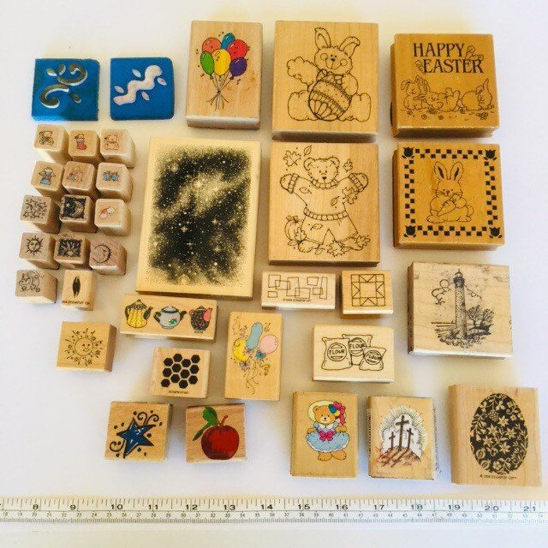 Milky Way Rubber Stamp